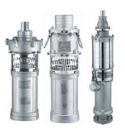 QY-S高效节能全不锈钢充油式潜水电泵