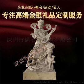 寺庙地藏王铜佛像定做 铸铜财神佛堂家居供奉摆件
