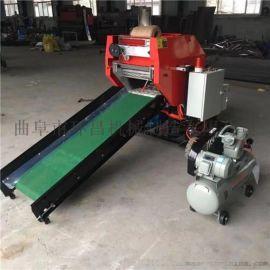 云南补贴打捆机-鲜玉米杆青贮饲料包膜机