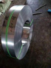 k热镀锌电缆用带钢 Q195 镀锌钢带 烤蓝打包带