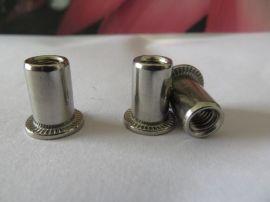 平头不锈钢铆螺母,铝/铁平头拉铆螺母