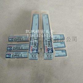 日本NACHI粉末钢不锈钢专用铣刀柄高速涂层钻头SG-ESS L7572P