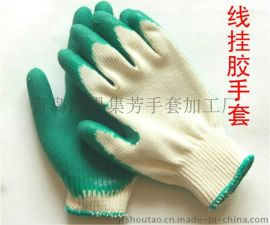 胶皮手套说明 推荐JF-2型使用 亮点材质高并结实耐用