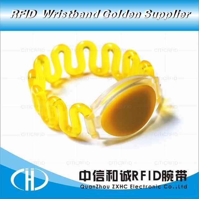 中信和诚电子 塑胶腕带手环 防水ID号码手牌