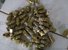 卡套式接头、液压卡套接头、卡套式端直通接头  QQ 2968755026