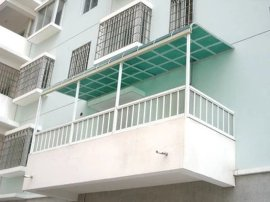 深圳雨棚耐力板雨棚车库雨棚阳台雨棚