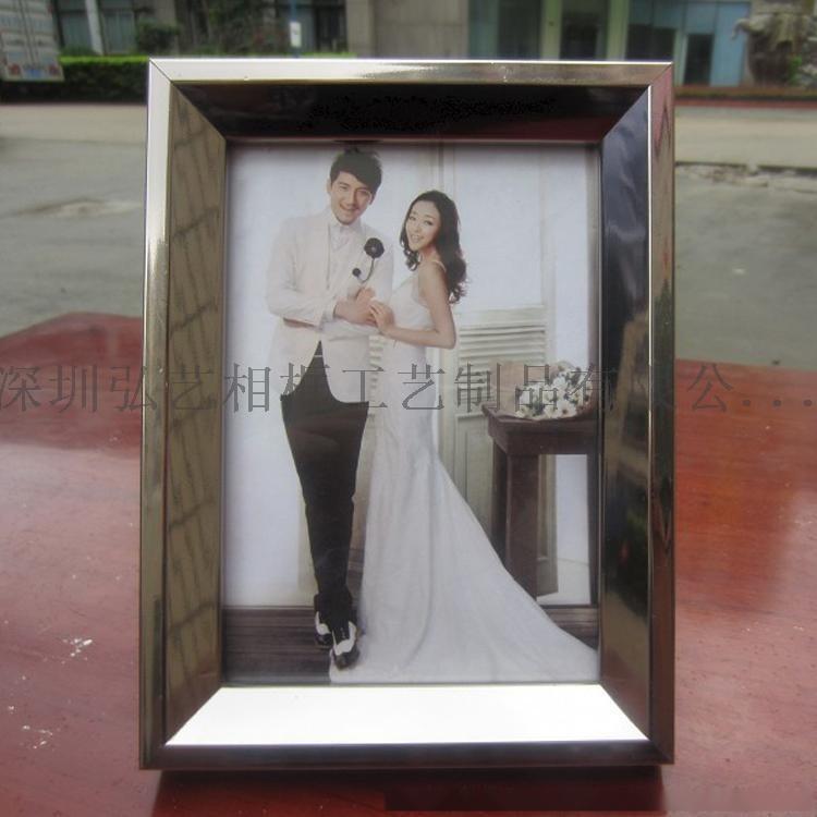 加工定製 金銀色PS發泡相框 歐式簡歐畫框7寸8寸10寸擺臺掛牆照片牆小相框