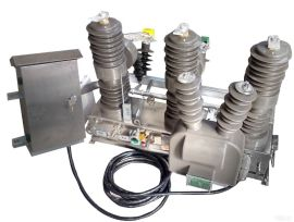 皖开电力~永磁真空断路器ZW32-12M/630-20,不锈钢壳体,看门狗控制器,三相CT保护