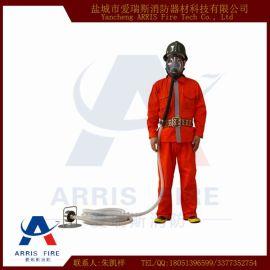 自吸式长管呼吸器 长管防毒面具 单人自吸式长管呼吸器