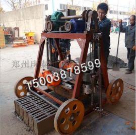 产量高大型移动水泥免烧制砖机空心砖机设备