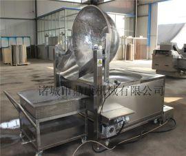 供应电磁自动油炸锅 鱼豆腐炸锅厂家
