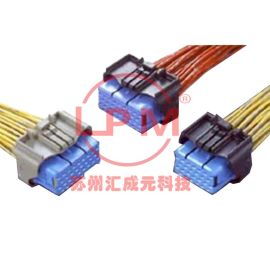 苏州汇成元供应JAE M120-54937 原厂车用连接器