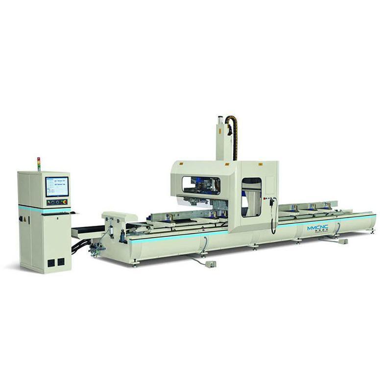 厂家直销 铝型材四轴加工中心 铝型材加工设备