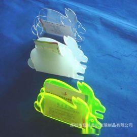 桌面亚克力名片盒透明有机玻璃名片展示盒颜色款式尺寸LOGO可定制