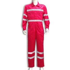 【优亿】厂家直销 红色纯棉阻燃服 连体阻燃防护服 高性能阻燃防护服