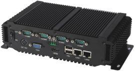 凌动D2550双核无风扇嵌入式工控机 多串口工业计算机