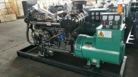 潍柴分厂船用100KW千瓦柴油发电机组380V三相交流全铜无刷发电机