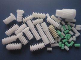 厂家直销塑胶齿轮 塑胶涡轮蜗杆 自锁蜗杆涡轮