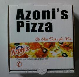 瓦楞纸板印刷一次性使用披萨盒