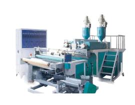 单层流延膜机,单层缠绕膜机用于保鲜膜工业食品包装