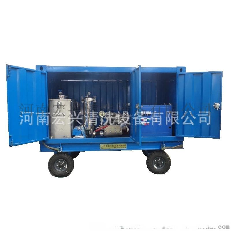 船舶清洗設備-船底海生物清洗機-高壓水射流清洗機
