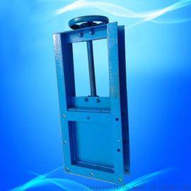 气动插板阀 手动闸阀 ,定制电动插板阀,不锈钢气动插板阀