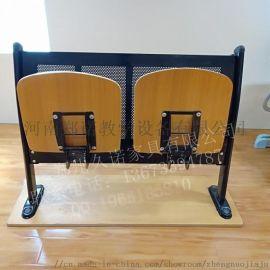 河南周口学校多媒体阶梯教室中空吹塑塑料排椅