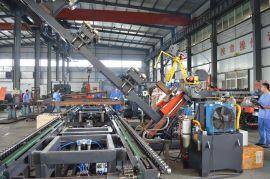 H型钢自动焊接生产线 济南光先智能自动焊接设备