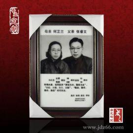 手绘金龙凤陶瓷棺材,殡葬用品定制