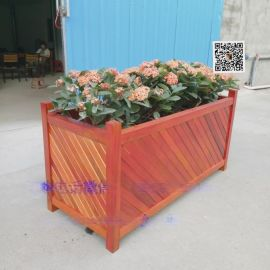 供应花箱 花盆 木制花箱 木花盆 花钵 木质花箱