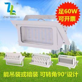 Zenlea珍领 ZL-FL1060-A1 LED60W贴片投射灯