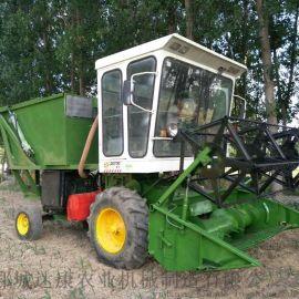 玉米秸秆青储机 玉米杆切碎回收机 饲料青储回收机