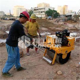 翔工出口外贸手扶单轮压路机 优质货源振动压路机