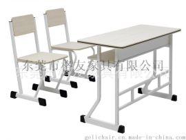 雙人位學習桌椅,雙人課桌椅,廣東高檔課桌椅,課桌椅