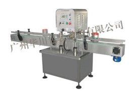 广州华川HCXG-4L螺纹盖旋盖机 沐浴露、洗发水 自动旋盖机
