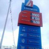 厂家直销半户外 户外8字油价屏LED油价屏 LED加油站价格显示屏