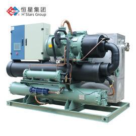 宏星中温型螺杆低温冷水机,厂家直供