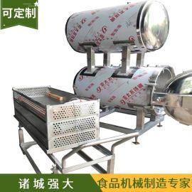 板栗蒸汽加热热水循环杀菌锅 地瓜干喷淋式杀菌锅