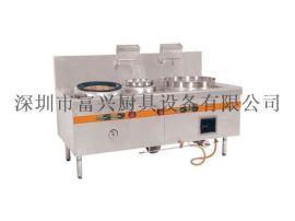 商用厨房设备大锅灶 直销不锈钢燃气大锅灶