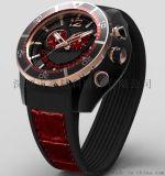 鑫柏琴歐美時尚男士3070男士防水大表盤手表定制