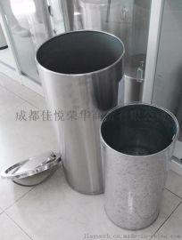 不锈钢港式垃圾桶 摇盖室内垃圾桶 果皮桶 卫生桶