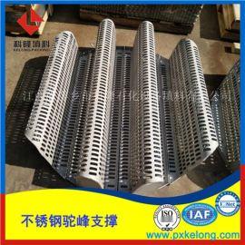 散堆填料用驼峰支撑 不锈钢梁型气体喷射式填料支承板