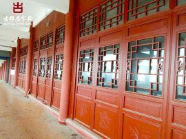 巴中仿古门窗厂家,古镇改造中式装修