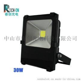 睿创30W黑金刚集成LED投光灯RC-TG0803
