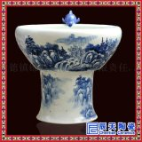 陶瓷流水擺件 陶瓷鯉魚出水口  陶瓷噴霧器