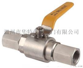 厂家直销 QG·M1不锈钢压力表球阀 内螺纹球阀