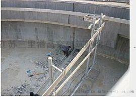 污水池伸缩缝漏水堵漏高压注浆补漏