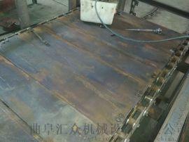 单列链板输送机多用途 链板输送机调试制造厂家