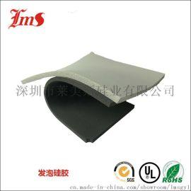 替代罗杰斯HT800 灰色硅胶发泡板 硅胶泡棉密封垫