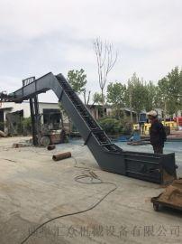 双环链埋刮板机防尘 移动刮板运输机